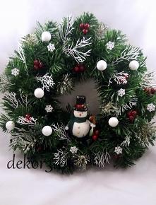 Wianek świąteczny dost.na Allegro