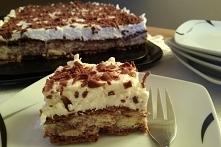 Ciasto bez pieczenie z wafelkami