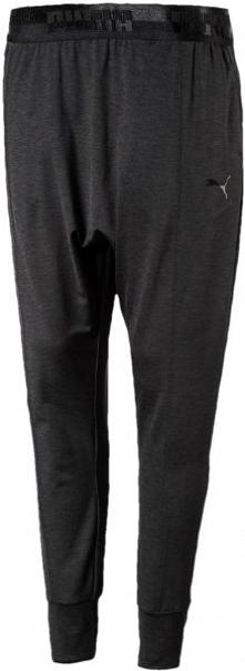 Puma Soft Sport Drapey Pants Black Heath M