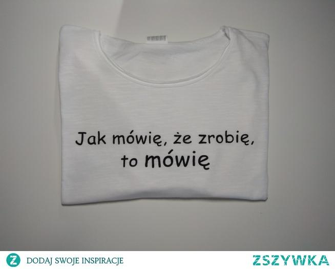 T-shirt męski oczywiście