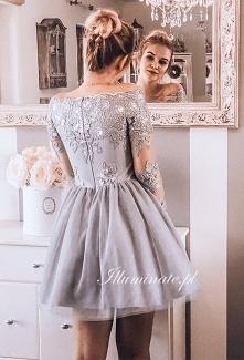 Piękna tiulowa sukienka na ...