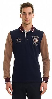 Galvanni Koszulka Polo Męska Rockhampton M Ciemny Niebieski