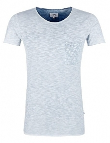 Q/S Designed By T-Shirt Męski Xxl Jasnoniebieski