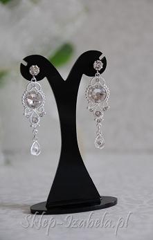 Biżuteria ślubna, kolczyki