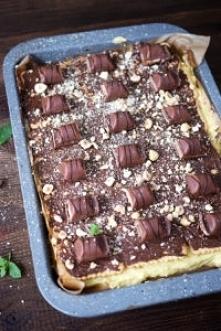 Ciasto Kinder Bueno (bez pieczenia)