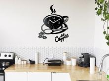 Zegar Coffee. Czas na kawkę :) Więcej zegarów na stronie decotia.pl