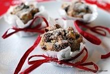 muffiny z żurawiną, jabłkie...