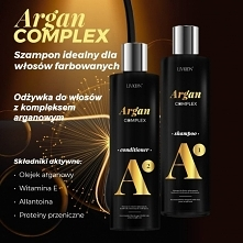 Szampon i odżywka z olejkiem arganowym, które doskonale odżywiają włosy farbowane, zniszczone oraz pozbawione naturalnego blasku. Chronią włosy przed czynnikami zewnętrznymi, wz...