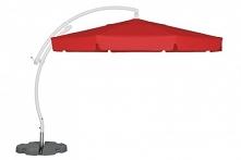 Malta parasol 3,5 m to piękny parasol o nieoczywistym kształcie nogi. Jego cz...