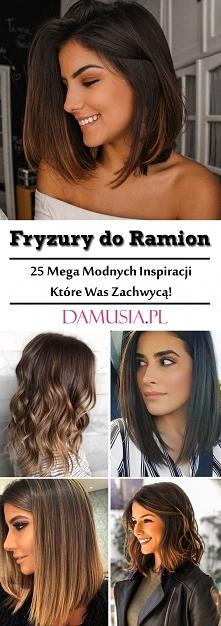 Modne Włosy do Ramion: TOP 25 Cudownych Inspiracji na Fryzury do Ramion Które...