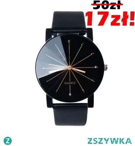 TOTALNA WYPRZEDAŻ Śliczny Zegarek Damski tylko za 17 PLN <3 MECHANIZM: Kwarcowy TARCZA: Analogowa SZKIEŁKO: Mineralne o podwyższonej odporności na zarysowania -> Kliknij w zdjęcie, by przejść do sklepu - CzasNaZegarki.pl