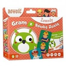 Gra edukacyjna Zielona Sowa Gram z Sówką Zuzią: Zawody