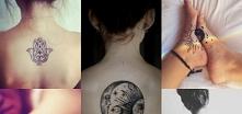 magiczny tatuaż z stylu Boho