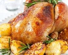 Kurczak pieczony z sosem so...