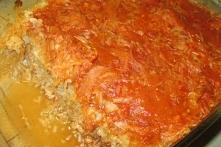 Zapiekanka gołąbkowa-pomysł na pyszny obiad-smak gołąbków bez ciężkiej pracy