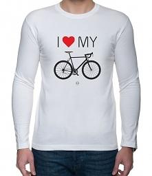 Koszulka Longsleeve I love my Road Bike