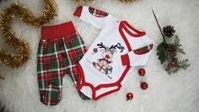 świąteczne ubranka dla niemowlaka na fazymazy!