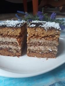 Ciasto orzechowo miodowe - polecam!