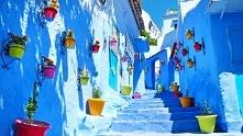Chefchaouen - niebieskie miasteczko w Maroku
