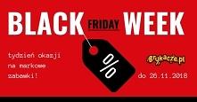 Black Week, Black Friday, zabawki w super cenach!