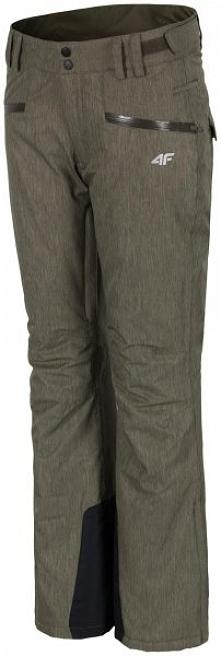 4F Damskie Spodnie Narciarskie H4Z17 spdn002 Brąz Xs