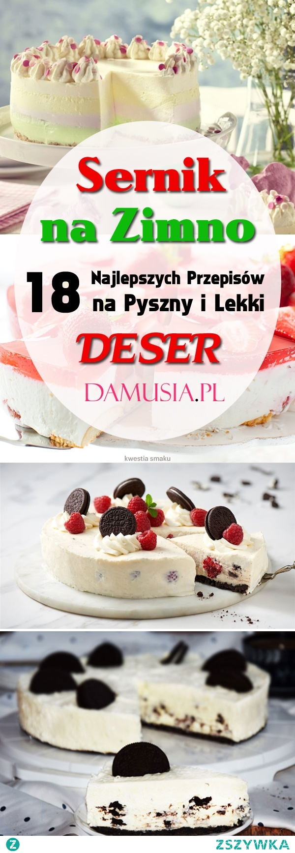 Sernik na Zimno: 18 Najlepszych Przepisów na Pyszny i Lekki Deser