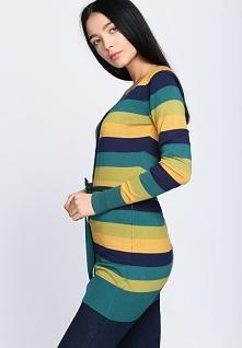 Zielono-Żółty Sweter Miracles