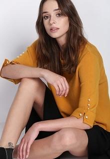 Żółty Sweter Never Easy
