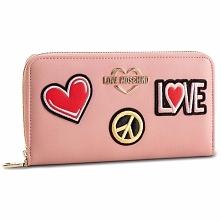 Duży Portfel Damski LOVE MOSCHINO - JC5604PP17LJ0600 Rosa