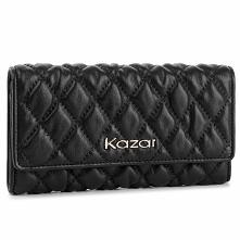 Duży Portfel Damski KAZAR - 34485-01-00  Black