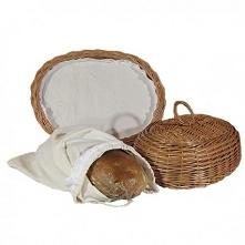 Wiklinowy chlebak z serwetk...
