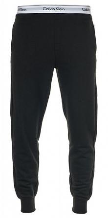 Calvin Klein Spodnie Dresowe Męskie M Czarne