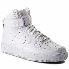 Buty NIKE - Air Force 1 High '07 315121 115 White/White