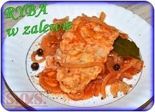 Ryba w zalewie pomidorowo-octowej - smaczna i łatwa rybka na imprezę, na Wigilię, na przekąskę lub do obiadu;)