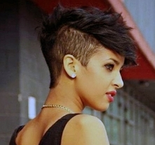 odważna fryzura damska