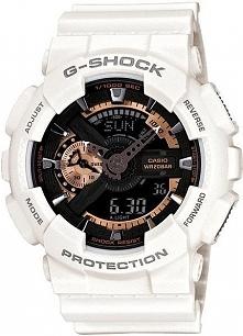 Zegarek Casio Męski GA-110RG-7AER G-Shock biały