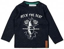 Dirkje Koszulka Chłopięca Rock The Beat 116 Czarna