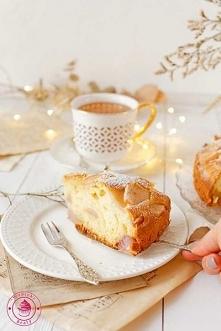Ciasto z gruszkami i mascarpone - Najlepszy przepis - Wypieki Beaty