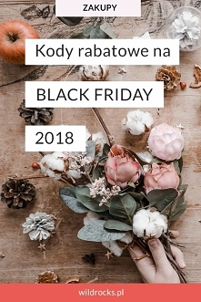Kody rabatowe na BLACK FRID...