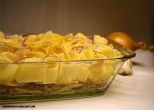 Zapiekanka ziemniaczana z mięsem mielonym i beszamelem