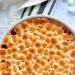 Amerykanskie danie tradycyjne: pieczone slodkie ziemniaki z marshmallow.