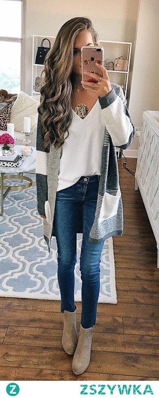 TOP 20 Modnych Inspiracji na Długi Sweter