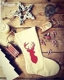 skarpety świąteczne by Cudawianki Handmade