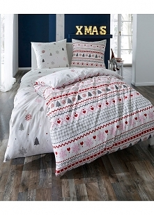 Świąteczny akcent w Twoim łóżku? Sprawdź pościel idealną na święta.