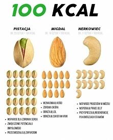 pistacja vs. migdał vs. nerkowiec
