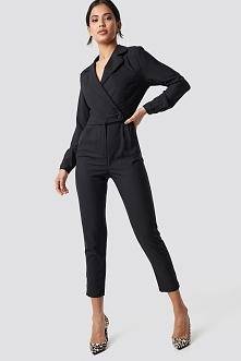 Trendyol Waist Button Jumpsuit - Black