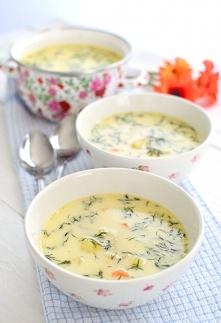 Zupa koperkowa z ziemniakami