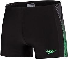 Speedo Spodenki Placement Panel Aquashort v2 Black/Green 40