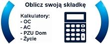 Kalkulator OC PZU online Porównaj ceny zanim kupisz OC. Wybierz najlepszą of...