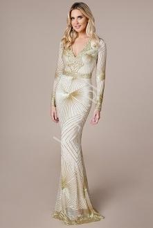 Długa suknia by Stephani Pr...